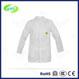 Выполненный на заказ Workwear стационара равномерное пальто лаборатории ESD