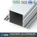 Perfil de aluminio de la protuberancia para los tipos populares del mercado de Libia con color modificado para requisitos particulares