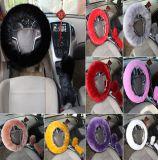 Coperchio del volante della peluche per l'automobile