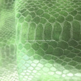 Python 아랫배 곡물 Hx-S1720를 만드는 부대 단화를 위한 합성 PU 가죽