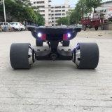 Patín eléctrico elegante de Longboard del eje de las ruedas duales del motor 4 ninguna necesidad teledirigida
