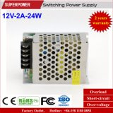12V Levering van de Macht van de Omschakeling van de Reeks van de 2A25W de Enige Output