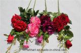 훈장을%s Rosa 도매 인공적인 꽃이 최신 판매에 의하여 인공적인 로즈 꽃이 핀다