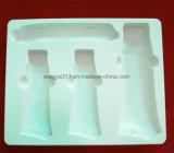 O PVC cosméticos chupar as embalagens de plástico