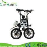 Um segundo motocicleta elétrica de dobramento da bicicleta de 14 polegadas