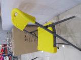 Silla de jardín blanca de la boda de la silla de plegamiento del HDPE