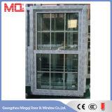 Doble colgado de la ventana del PVC de China el solo colgó la fábrica de la ventana