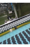 Raios de guia lateral do rolo de ruído transportador de aço Lowise Steel