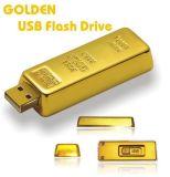 Azionamento dell'istantaneo del USB di barra di sezione dell'oro di alta qualità di marchio dell'incisione del laser