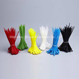 12 '' cintas plásticas de nylon de travamento automático da cor 50lbs preta UV branca