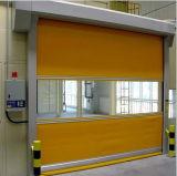 Im Freienautowäsche Belüftung-Gewebe-materielle Hochgeschwindigkeitsautomatische rollen oben Tür