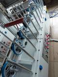 Ventana o puerta PVC decorativo cubierto TUV Certificado Carpintería Wrapping Machine