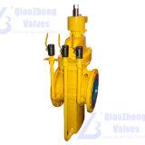 API 6D de gas de la válvula de compuerta plana con sangrado de tubo de Gas natural Petróleo