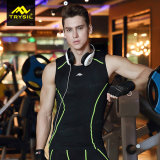 体操のためのスポーツ・ウェア及び不足分および袖なしのTシャツ
