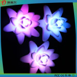 20116最も新しいロータス形の装飾LEDの蝋燭ライト