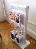 Étalage acrylique avec le crochet d'étalage