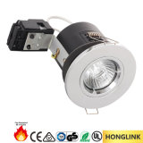 Широкий пожар Rated Downlight кольца замка H100mm закрутки Halogen/LED