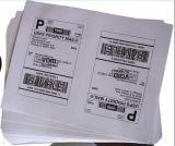 Etiqueta engomada de papel de papel del código de barras de la etiqueta autoadhesiva A4 A4