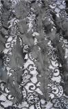 女性Dressingおよびホーム織物ののための方法3D刺繍ファブリック