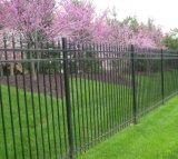 Frontière de sécurité enduite galvanisée soudée de jardin de poudre noire