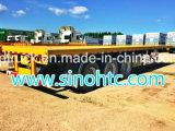 Remolque de contenedor esquelético duradero de 40 pies