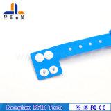 Wristband plástico modificado para requisitos particulares del ABS elegante de RFID para los conjuntos del recorrido