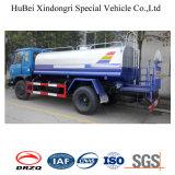9ton 9cbm Dongfeng Euro IV de riego por chorro de agua del tanque de camiones cisterna