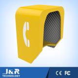 Cabina de teléfono para cualquie capo motor acústico del teléfono ruidoso de los ambientes