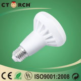 Luz de bulbo do diodo emissor de luz de Ctorch R39 9W PC+Al com base E27/B22