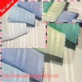 Tessuto di cotone tinto del jacquard per la tessile della casa dell'indumento della camicia di vestito dalla donna
