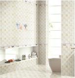 baldosa cerámica del azulejo de la pared interior de la inyección de tinta 6D de 300X600m m para el material de construcción
