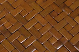 Block Bamboo Mat para mesa y suelo