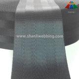 2,5 polegadas Black 5 Painel de tecido do cinto de segurança de poliéster