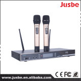 UHFの無線カラオケの段階の歌うマイクロフォン