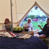 4m Bell палатка используется группа свадьбы палатки на открытом воздухе