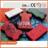 Material de goma alfombrilla de corte de bádminton con buen precio y larga vida útil Eco friendly