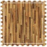 Pisos laminados de madera de nogal de la Junta para la pavimentación de la superficie del piso interior