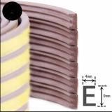 D, I, E форма EPDM губкой резиновый уплотнитель для деревянных дверей