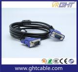 Maschio di alta qualità al cavo maschio 3+5/3+4/3+6 del VGA per il video/Projetor (D001)