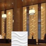 Conception d'onde facile sans intervalle Peel & Stick 3D panneau mural en PVC