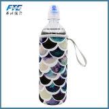 Bunter Neopren-Wasser-Flaschen-Kühlvorrichtung-Halter mit Hülse