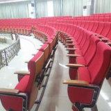 Portée de salle avec le microphone et le système de traduction, présidences de théâtre de conférence, montage public de salle de présidence, présidence de salle (R-6118)