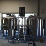 500L cerveja artesanal de aquecimento a vapor equipamentos de fabrico de cerveja