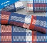 حمراء زرقاء نسيج مربّع قطر [دوفت] تغذية مجموعة
