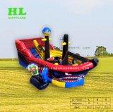 Смешные парк развлечений интересные надувные пиратских судов с отскок слайд для детей с большим спортивные мероприятия