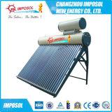 Calefator de água solar pré-aquecido pressurizado da bobina de cobre