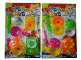 Игрушка миниой игры кухни установленная для малышей