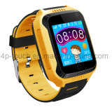 カメラおよび懐中電燈D26cが付いている新しい子供GPSの追跡者の腕時計