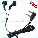 Freies Beispieldoppelpin-Wegwerffluglinien-Kopfhörer-Kopfhörer