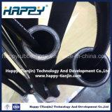 Boyau hydraulique en caoutchouc R9 de fil d'acier de pétrole à haute pression de spirale